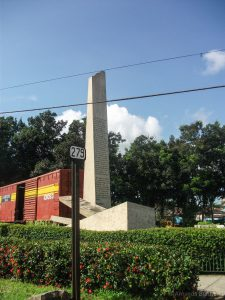 Monument Tren Blindado