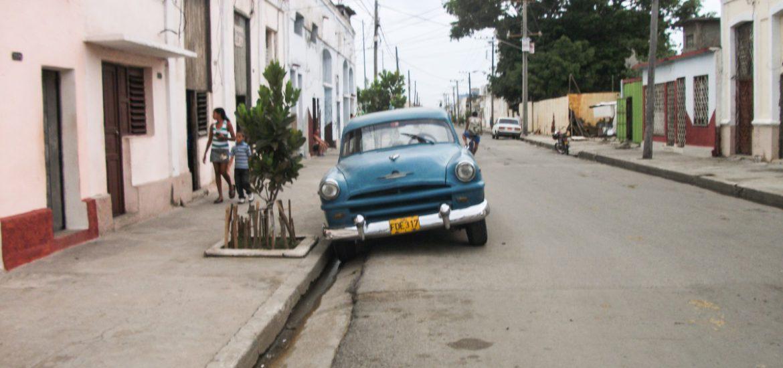 Oude auto in Cuba