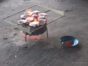 Schelpbarbecue Wonsan