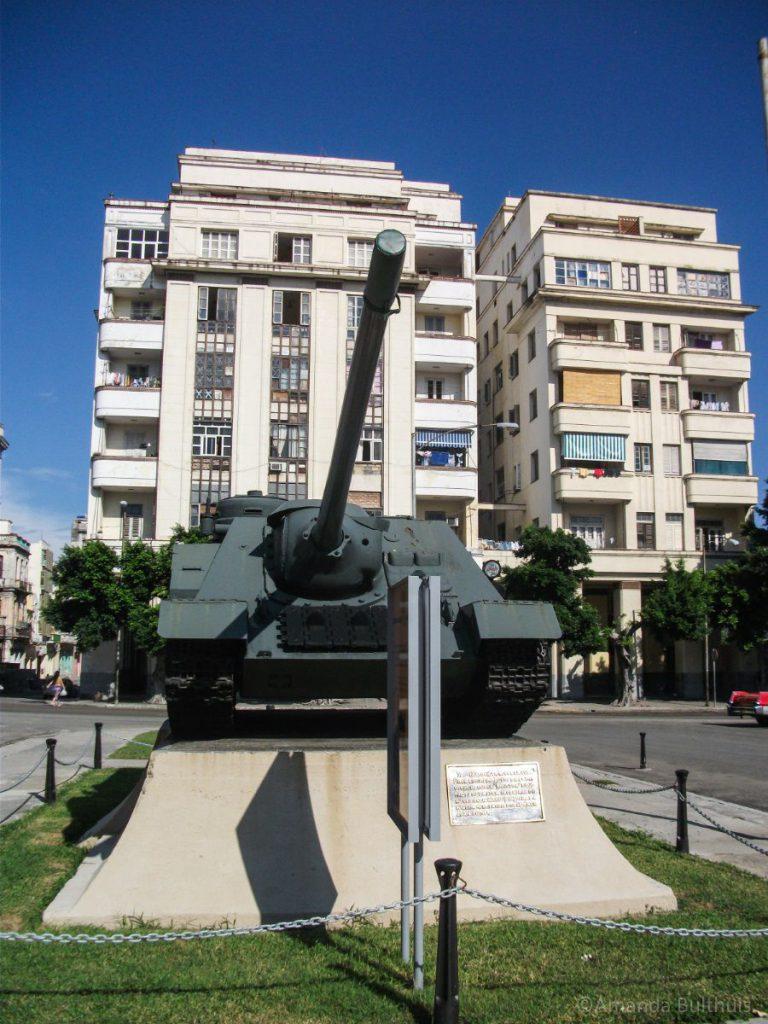 Tank voor Museo de la Revolucion, Havana
