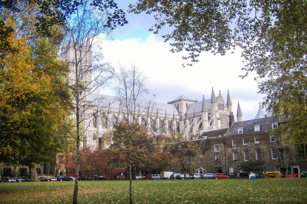 Achterkant Westminster Abbey