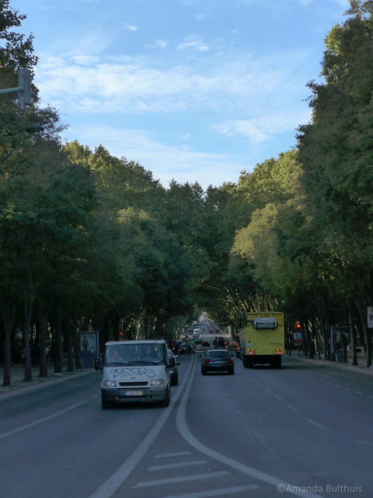 Avenida da Liberdad Lissabon