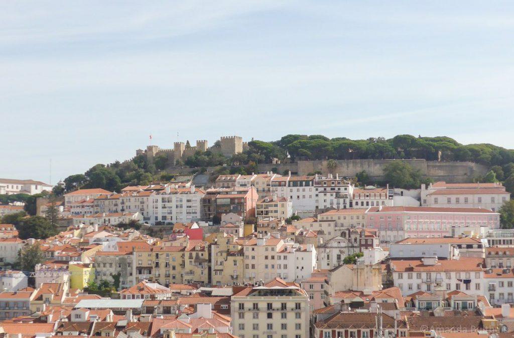 Castello Sao Jorge, Lissabon