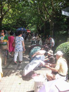 Huwelijksmarkt People's Parc Shanghai