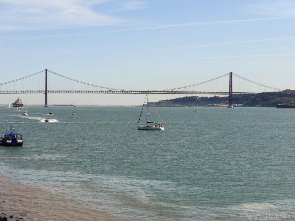 Ponte de 25 de abril Lissabon