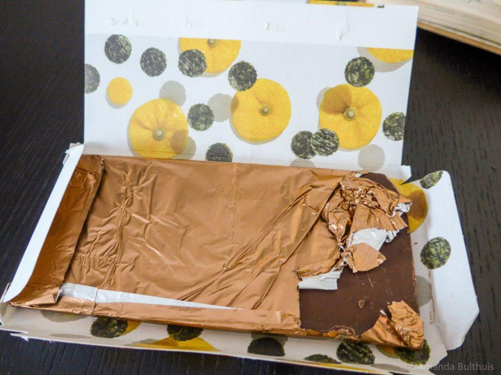 Chocolade Yuzu Zeewier