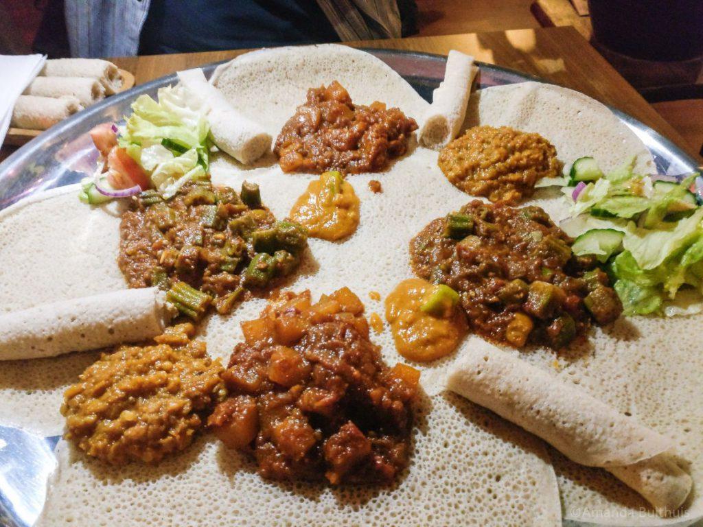 Eritrees eten Gezana