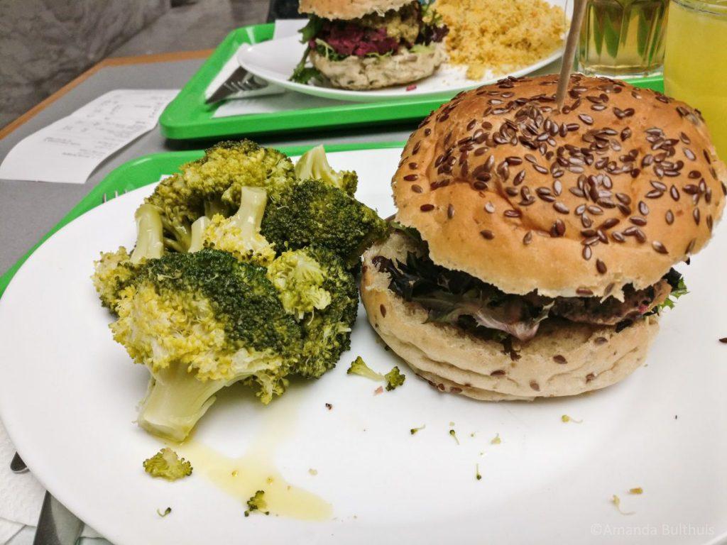 Vegan burgers Lissabon