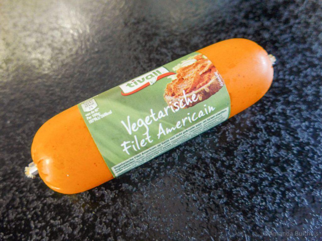 Vegetarisch filet americain