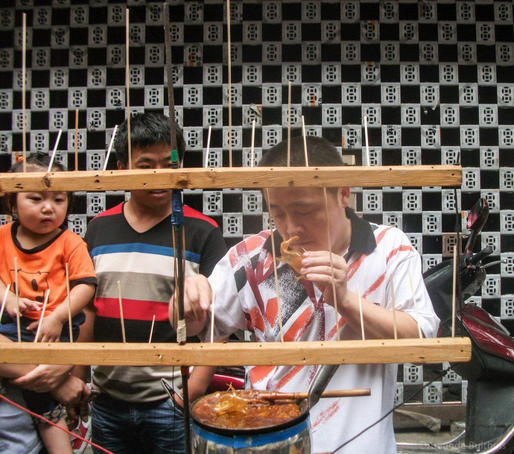 Food Market Moslim wijk Xi'an