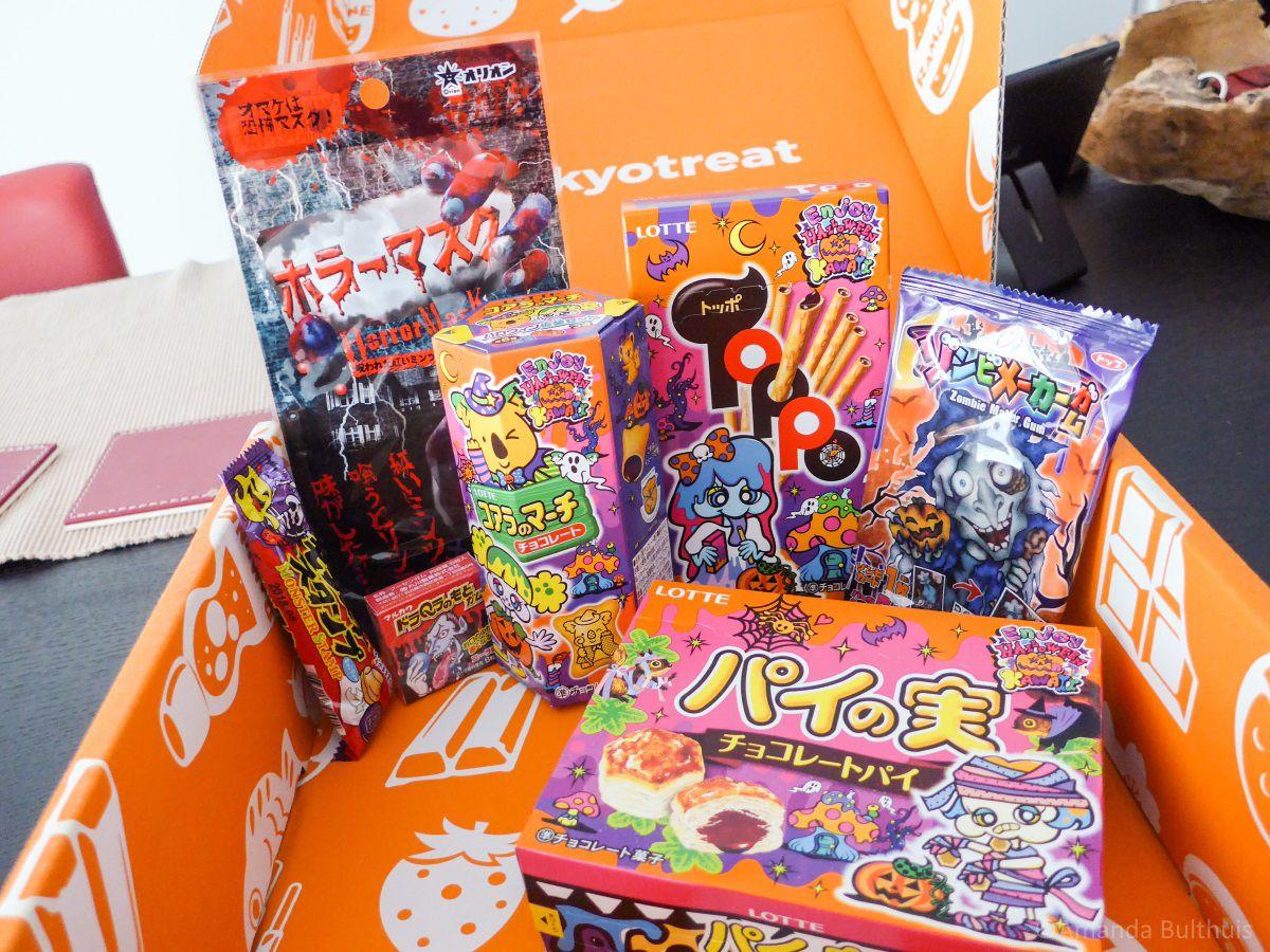 Halloween Snoep.Japans Halloween Snoep Testen Beetje Verlaat Keukenneusje