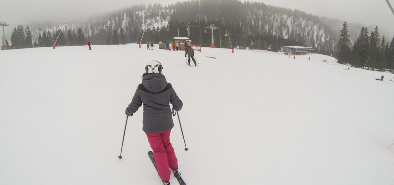 Leren skiën in Ehrwald