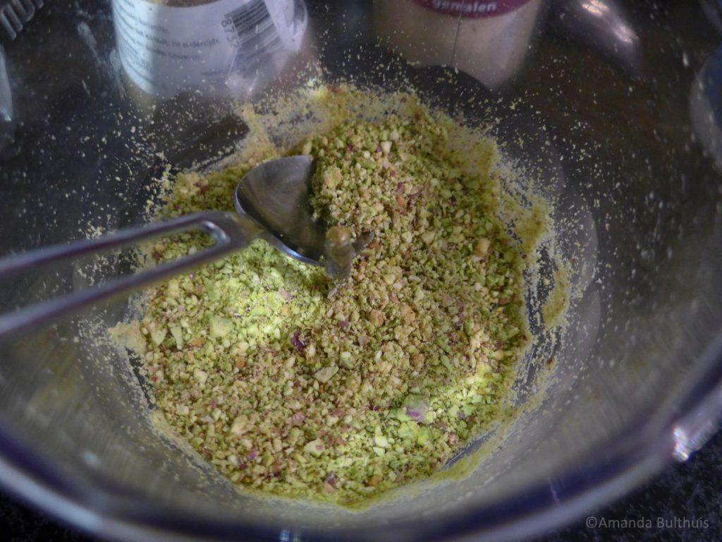 Pistache kruidenmengsel voor Indiaase kruidnoten