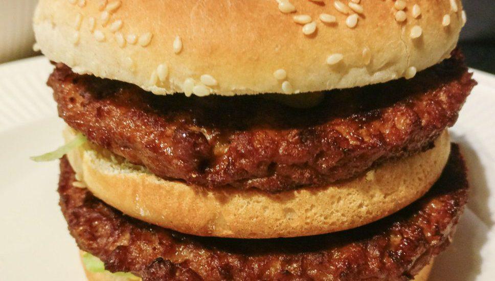 Vegetarische Big Mac