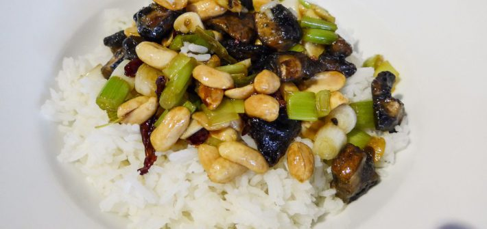 Kung Pao Mushrooms