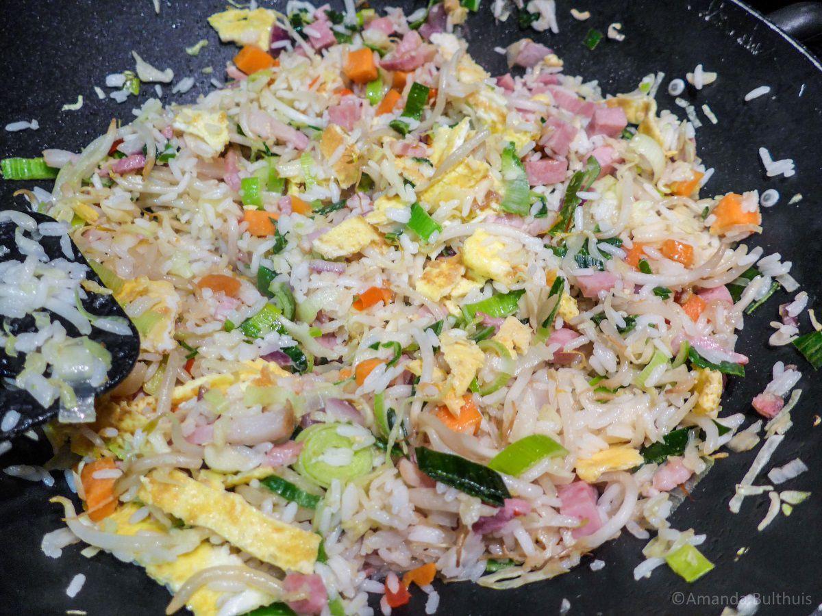 Mijn recept voor nasi goreng (inclusief vega-variant) - Keukenneusje