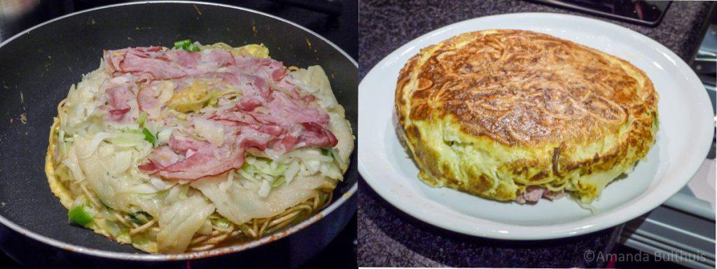 Okonomiyaki bouwen
