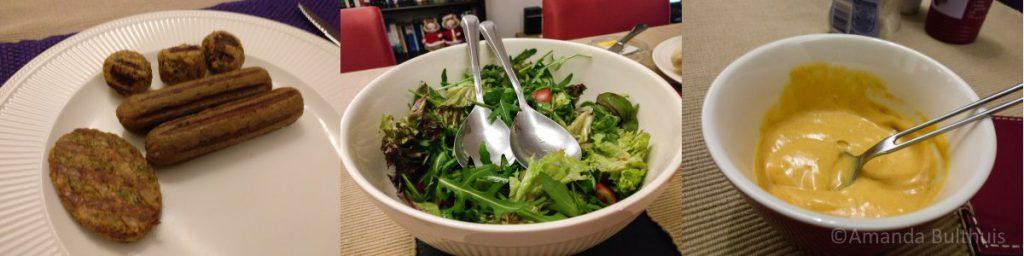 Vegetarisch gourmetten