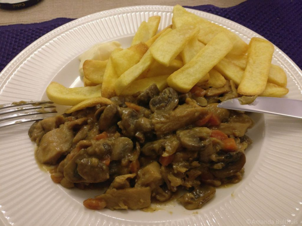 Vegetarische stoofpot