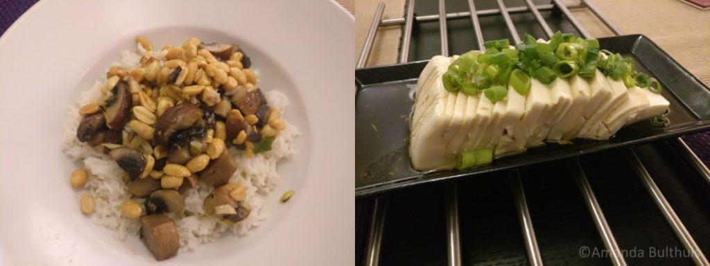 Kung Pao Portebello en Tofu