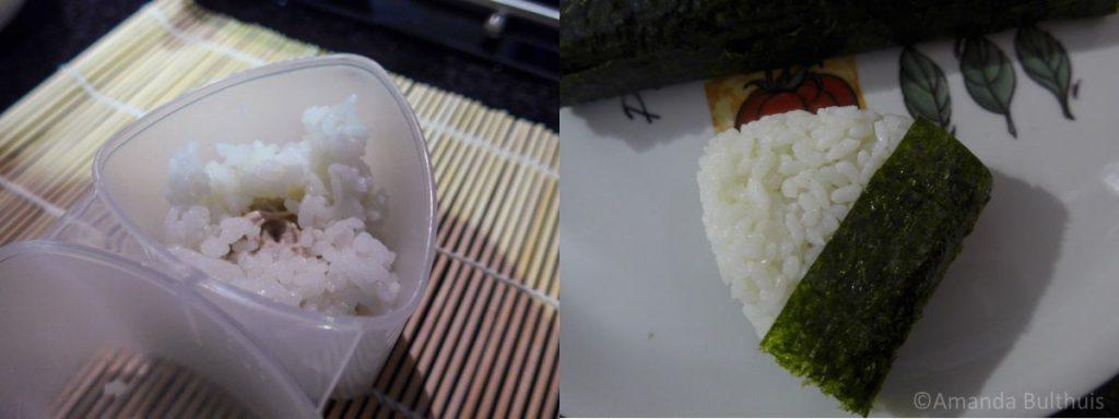 Onigiri maken