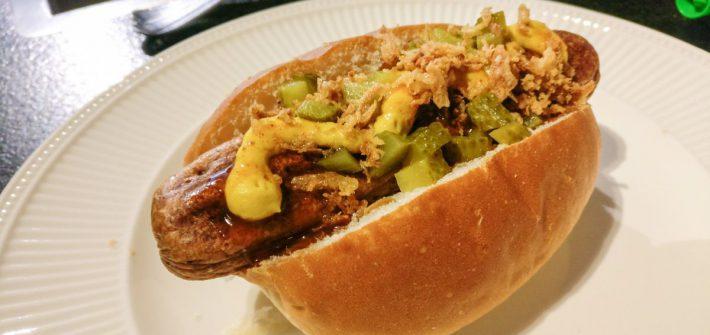Vega hotdog
