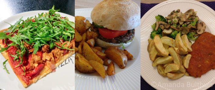 Eten overzicht week 9
