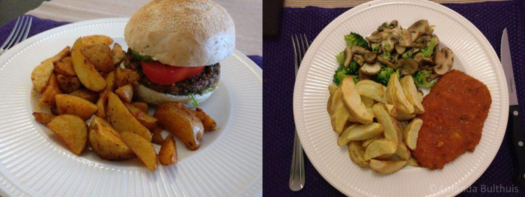 Zadenburger en vega zigeuner schnitzel
