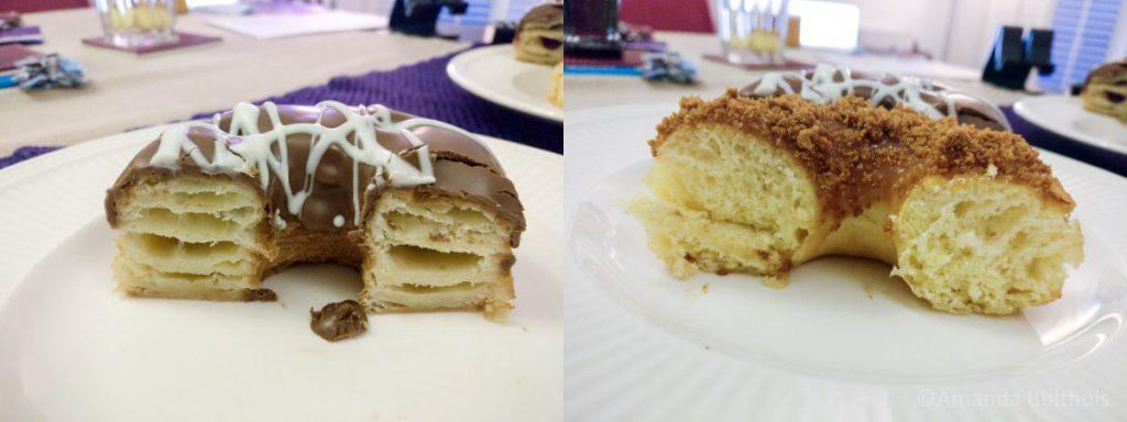 Croissant donut en speculoos donut