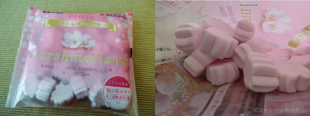 Sakura marshmallows