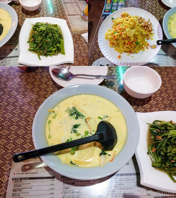 Thais eten in Kenting