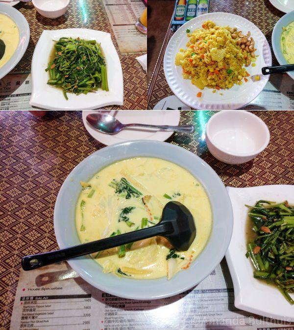 Thais eten in Kenting