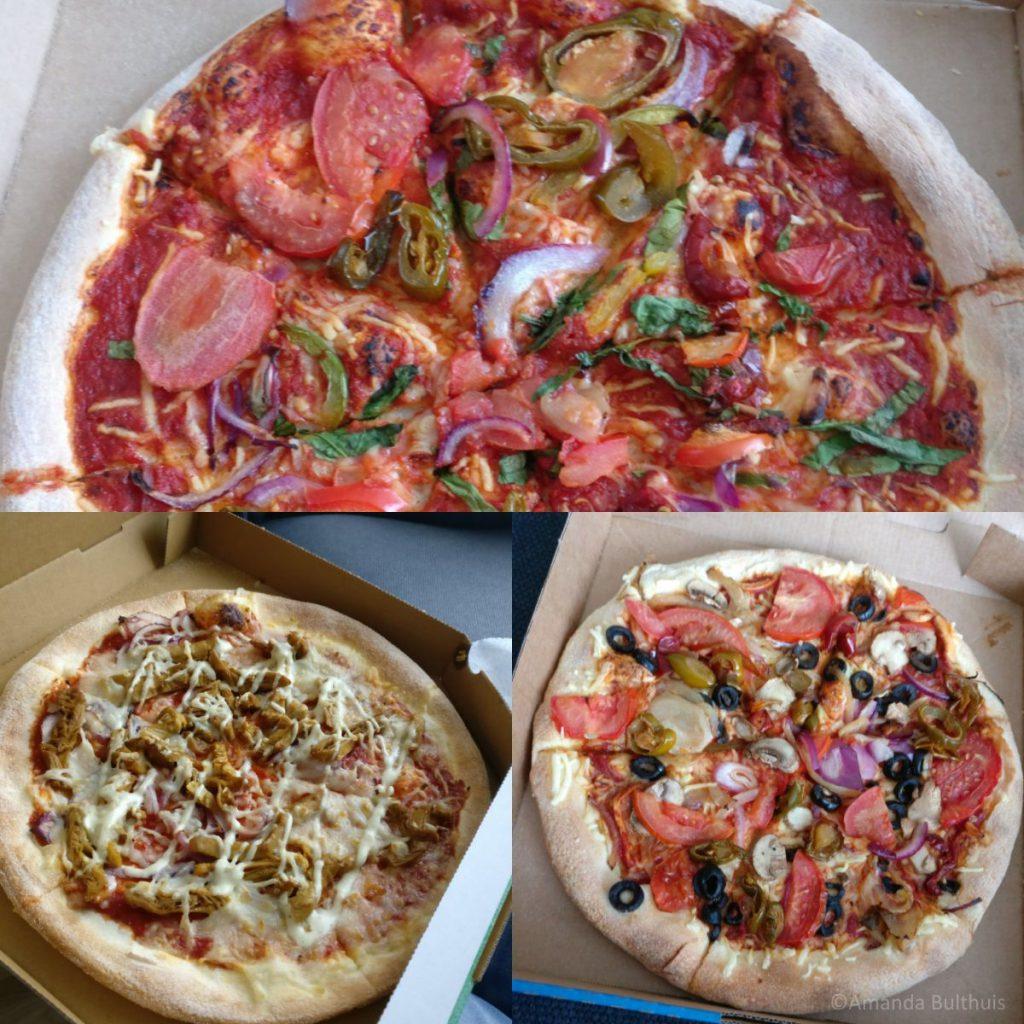Vegan pizza party