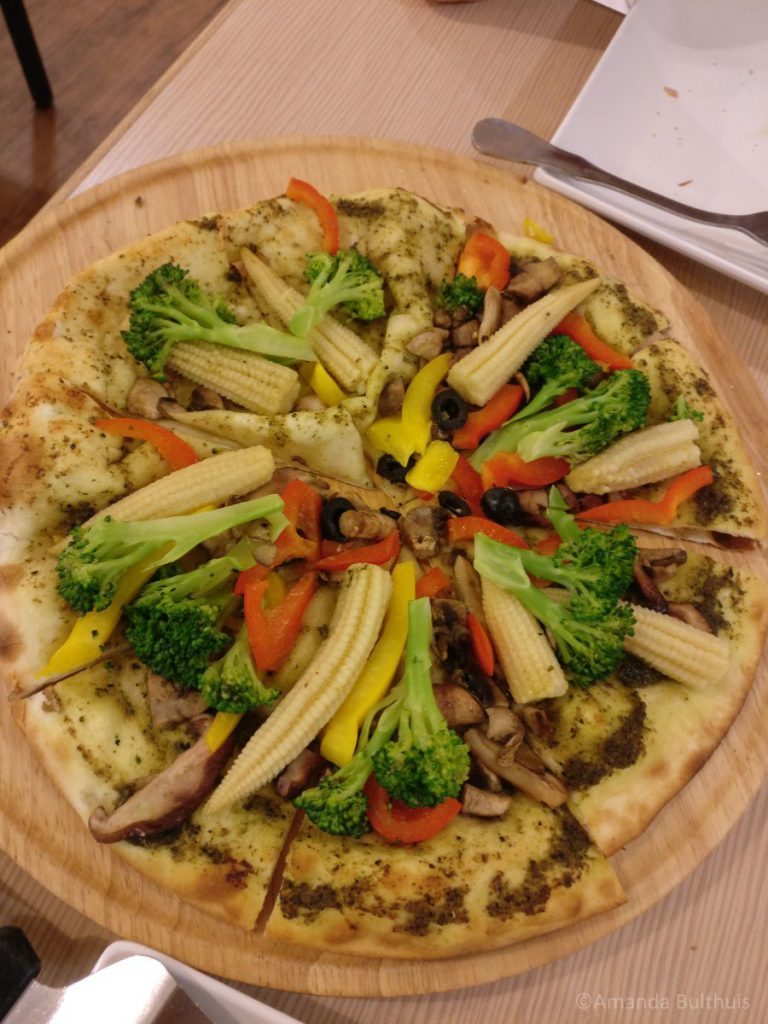 Vegan Pizza Tainan, Taiwan