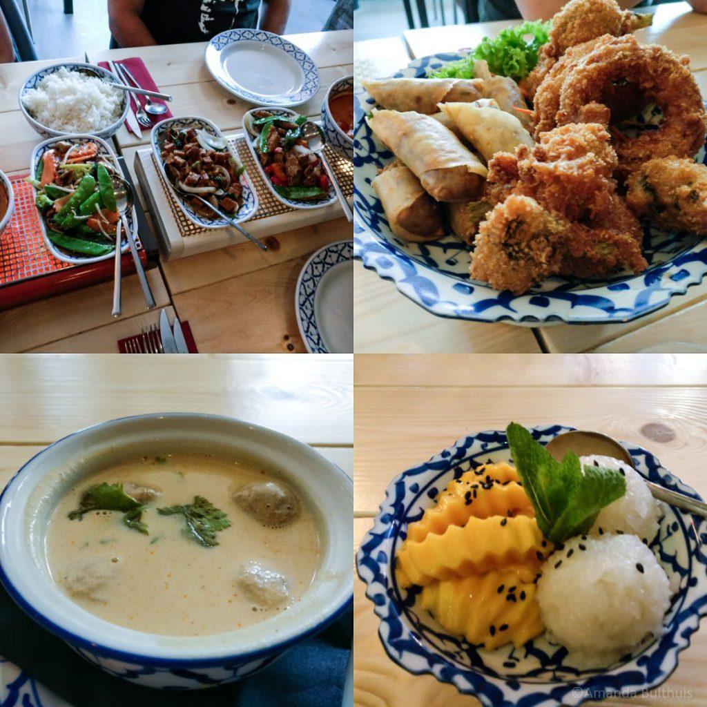 Vegetarisch Thais eten, King Thai Eindhoven