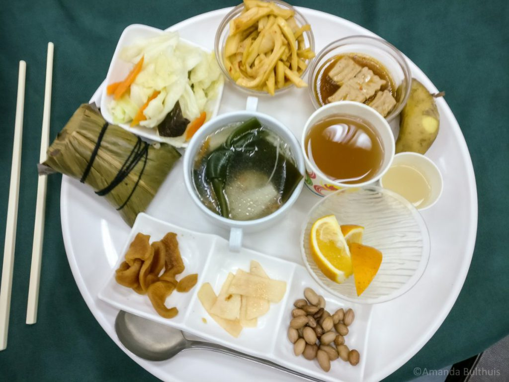 Vegetarische Aboriginal lunch in Taitung