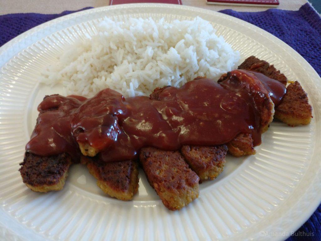 Vegetarische babi pangang