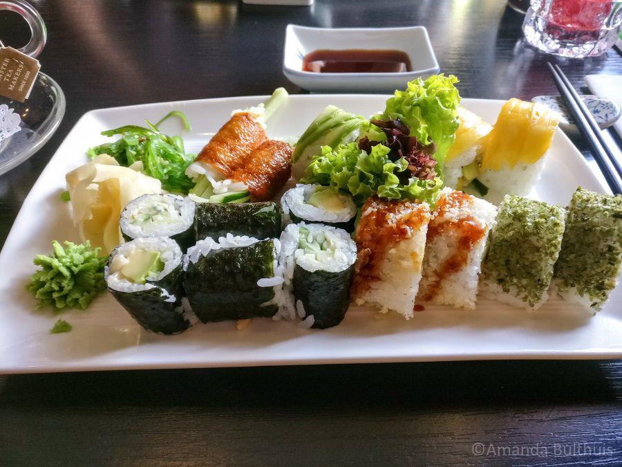 Vegetarische sushi Kyoto Eindhoven