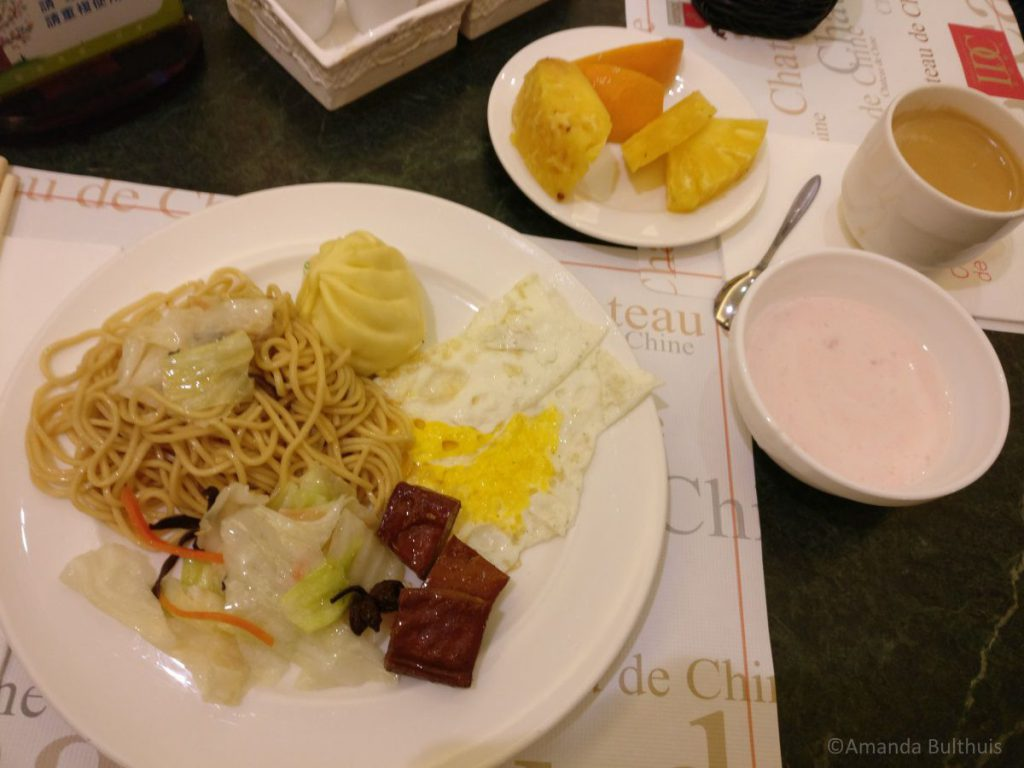Hotel ontbijt Taiwan