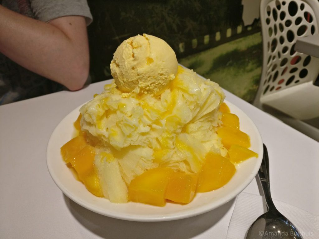 Mango shaved ice, Taipei