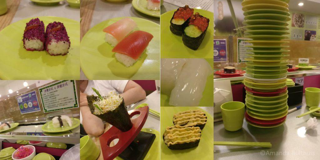Vegan sushi restaurant Taipei