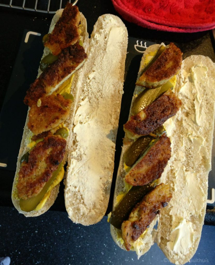 Cuban sandwich vegan