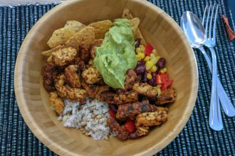 Mexicaanse rijst bowl