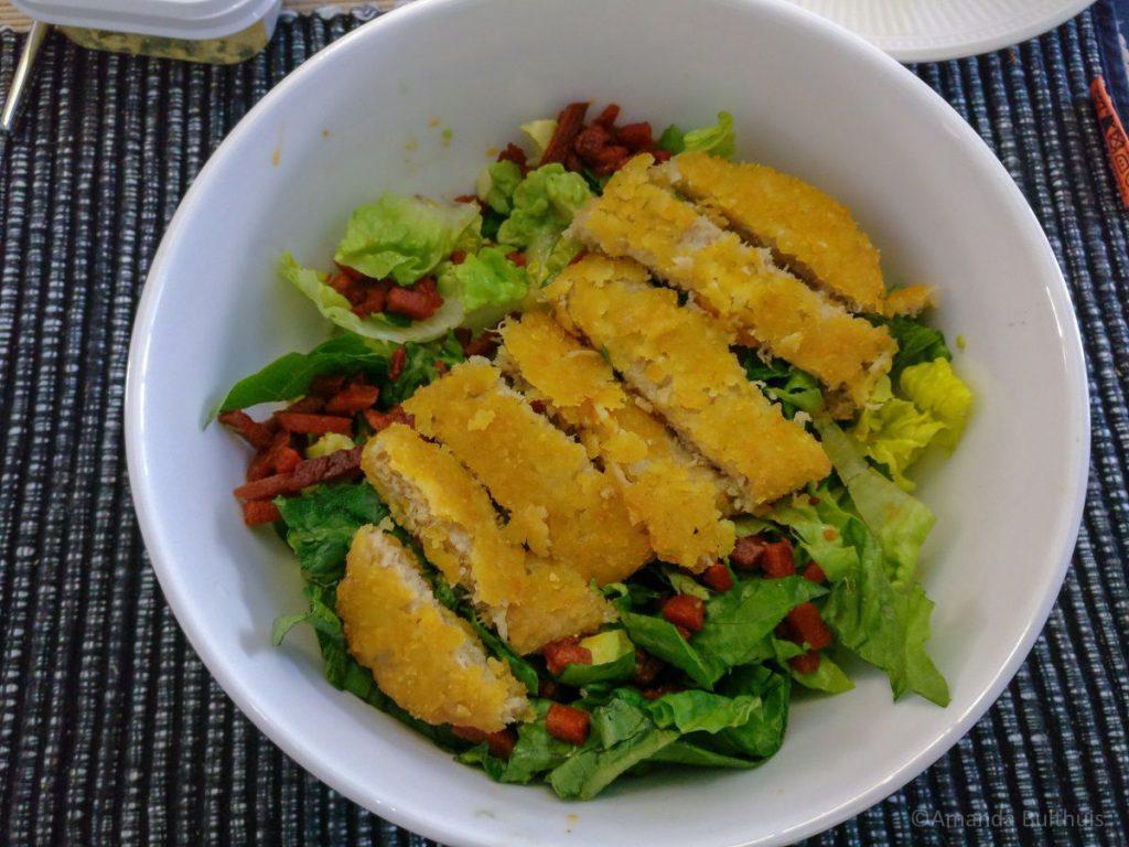 Vega ceasar salade