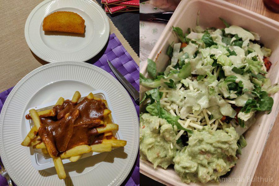 Friet en Burrito Bowl van Chidoz