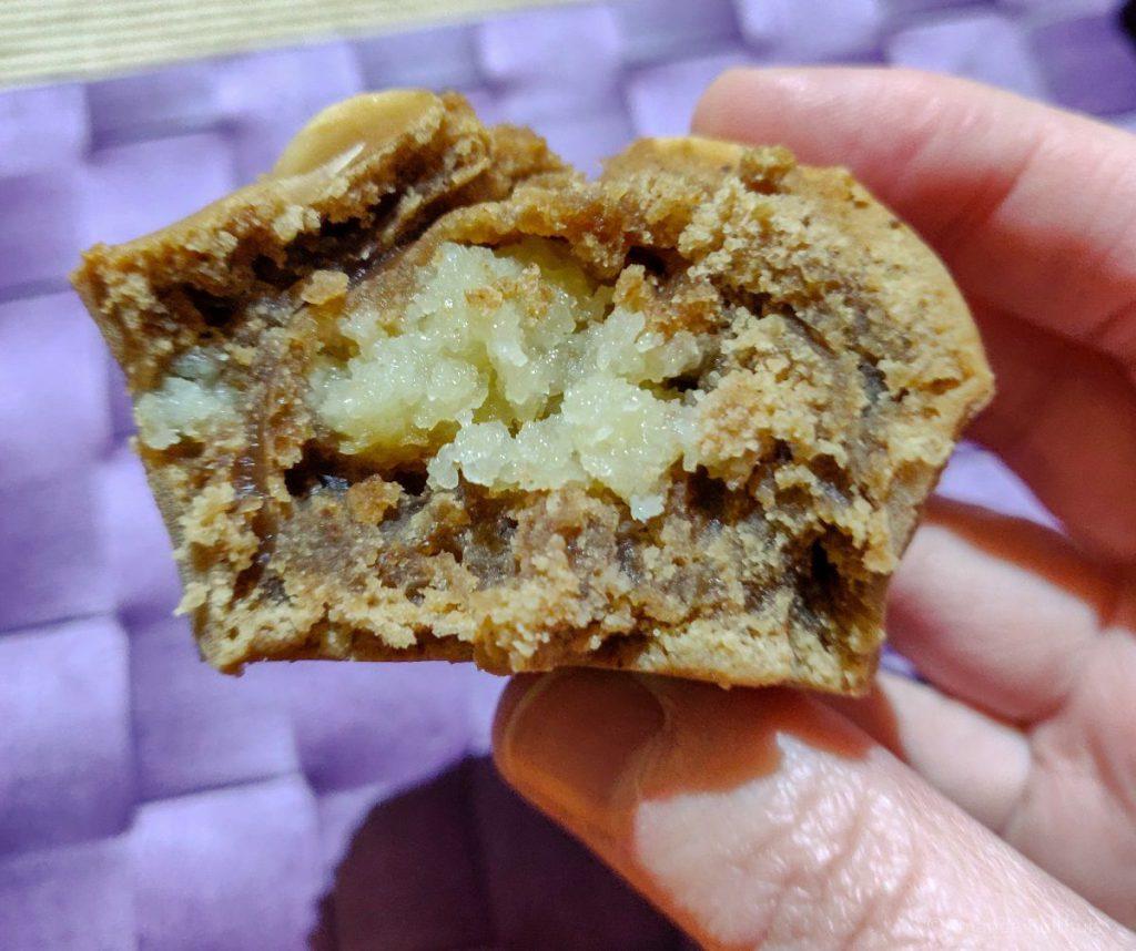 Speculaas muffin met amandelspijs