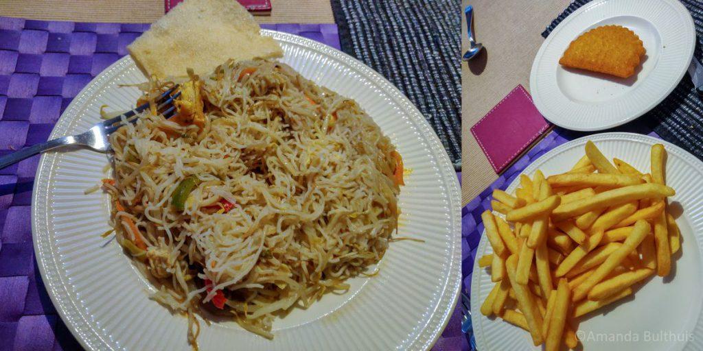 Chinees en frietjes