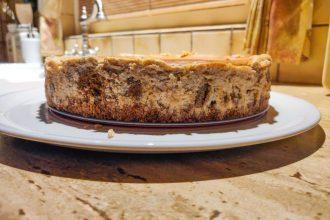 Sinterklaas cheesecake met pepernoten