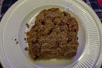 Sinterklaasbrood met pepernoten