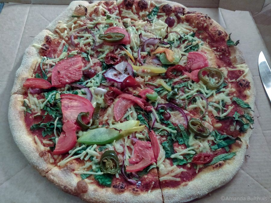 Vegan pizza Domino's